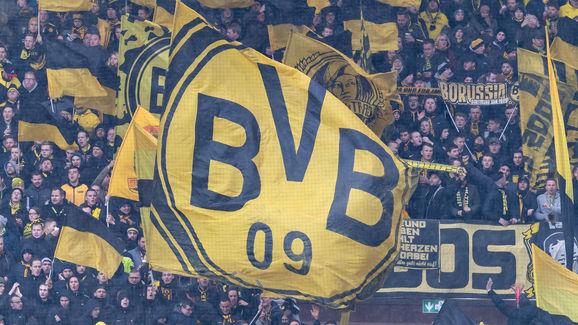 Fahne,Flagge,Fan Dortmund