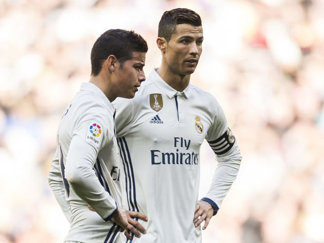 newest 6236b 53576 Cristiano Ronaldo 'Called' James Rodriguez in Attempt to ...