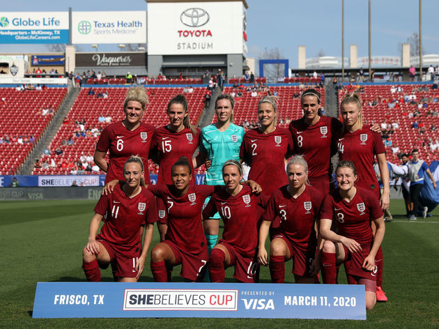 2020 SheBelieves Cup - England v Spain