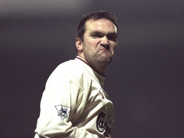 29 Dec 1996: Neil Ruddock of Liverpool during the Premier League match against Southampton at the D