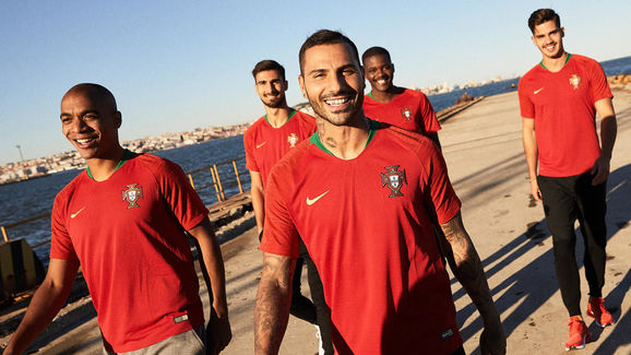 2018 Nike Portugal Home Kit