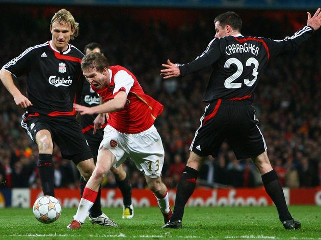 Arsenal v Liverpool  - UEFA Champions League Quarter Final