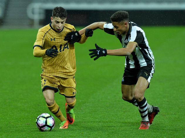 Newcastle United v Tottenham Hotspur - FA Youth Cup Sixth Round