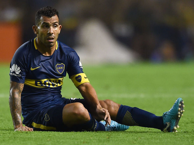Carlos Tevez Set for Spell on Sidelines After Sustaining Injury ...