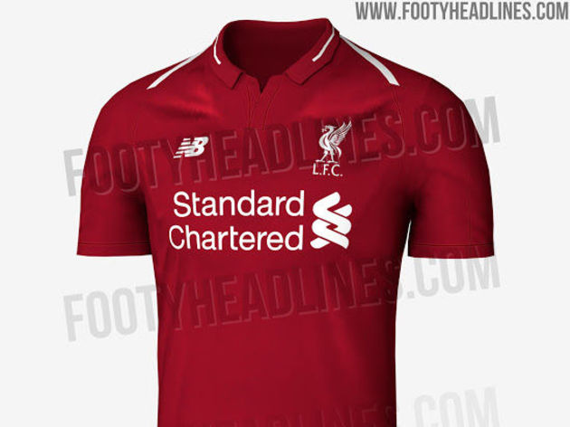 fd719262495 PHOTOS  Designs for Liverpool s Home Kit for 2018 19 Season Leaked ...