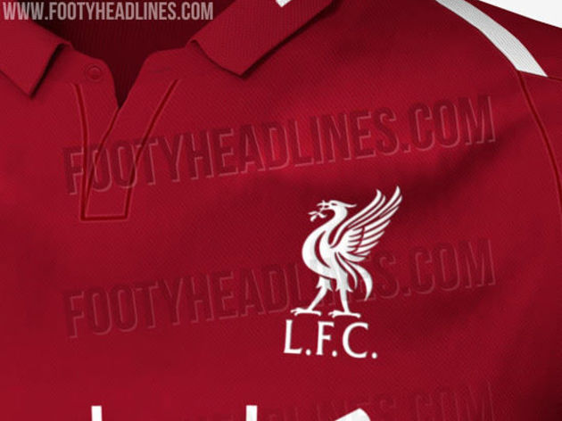 49f3b230c PHOTOS  Designs for Liverpool s Home Kit for 2018 19 Season Leaked ...