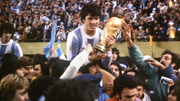 WORLD CUP-1978   -ARG-PASSARELLA-TROPHY