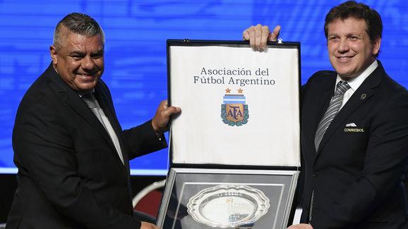 FBL-ARGENTINA-CONMEBOL-DOMINGUEZ-TAPIA