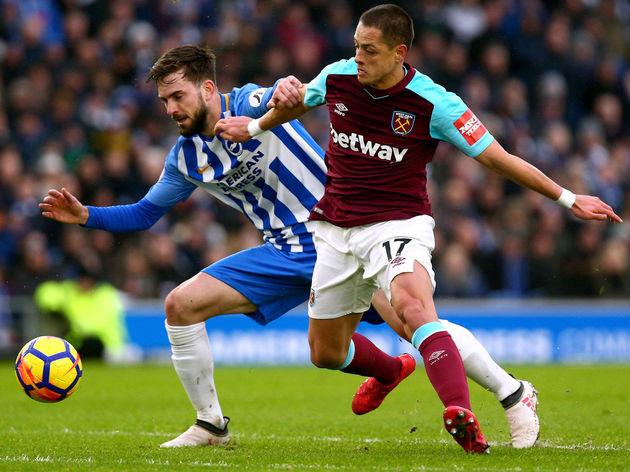Brighton and Hove Albion v West Ham United - Premier League