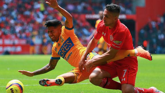 Toluca v Tigres UANL - Torneo Clausura 2018 Liga MX