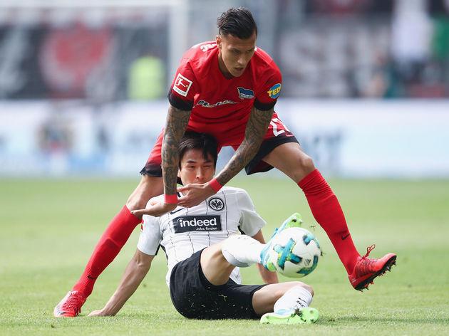 Eintracht Frankfurt v Hertha BSC - Bundesliga