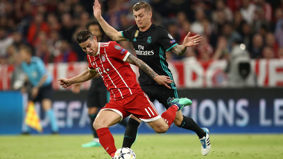 Bayern Muenchen v Real Madrid - UEFA Champions League Semi Final Leg One