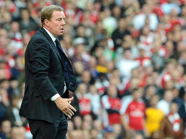 Tottenham's English manager Harry Redkna