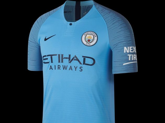 b8e48959e PHOTOS  Champions Man City Team Up With CITC to Launch New Home Kit ...