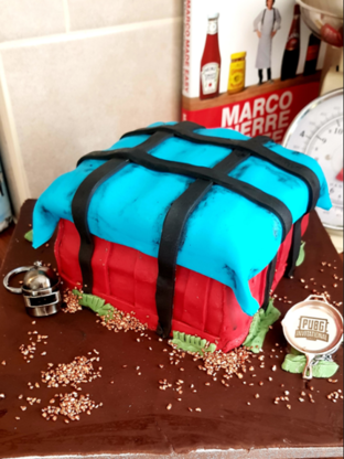 Pubg Themed Cake Made For Husband S Birthday Dbltap