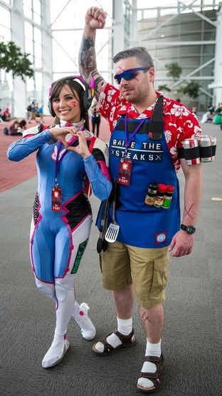 95636e7f3 Overwatch Fans Make Amazing D.Va and Soldier: 76 Cosplay | dbltap
