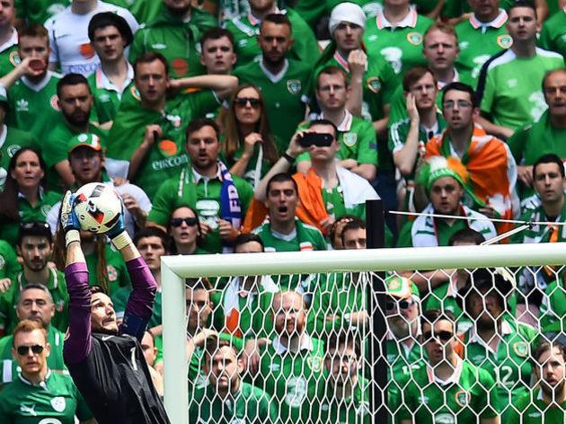 Irelande fans