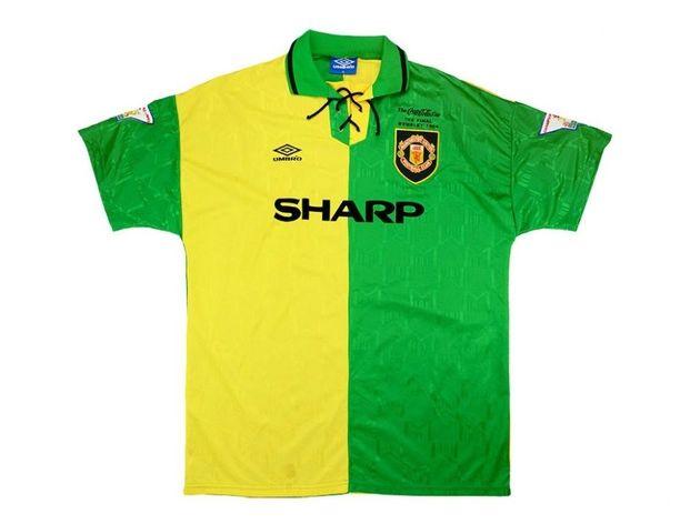 1992-94 Manchester United Umbro