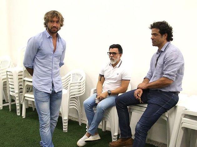 Lugano, Ricardo Rocha e Raí trabalham juntos no São Paulo