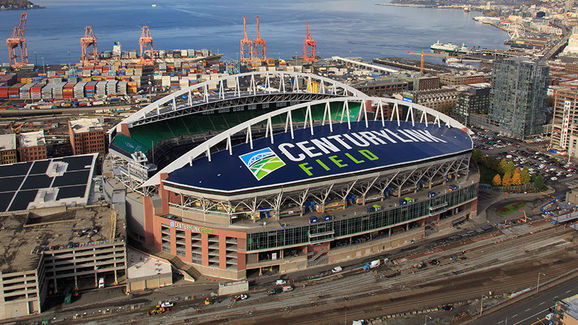 CenturyLink Field in Seattle. Copyright: Turman Commercial Painters