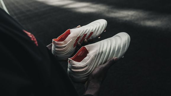 557af990c adidas Launch New Copa 19+ Boots in Champagne & Red Worn by Paulo ...