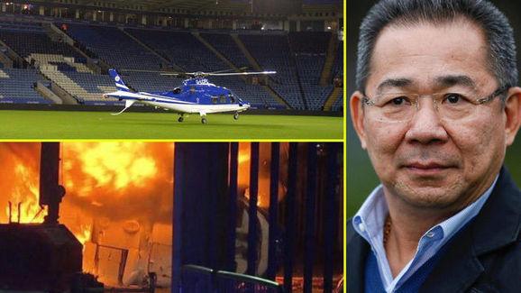 TIẾT LỘ SỐC: Nguyên nhân khiến cố chủ tịch Leicester rơi máy bay trực thăng