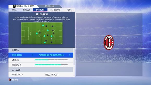 Albero Di Natale Milan.Fifa 19 Come Ricreare La Tattica Ad Albero Di Natale 4 3 2 1
