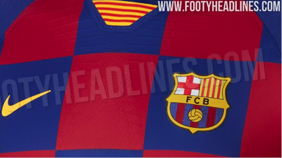Photos: Latest Images of Barcelona's 2019/20 Kit 'Leaked' on
