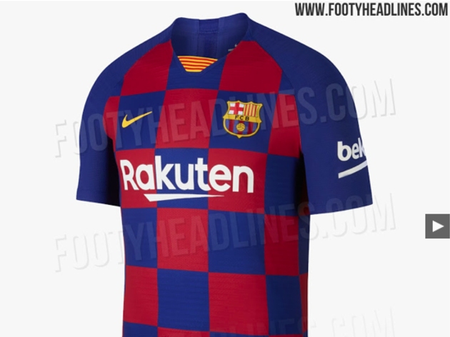 13bfb69e6da Photos: Latest Images of Barcelona's 2019/20 Kit 'Leaked' on Social ...