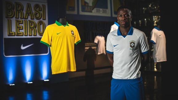 81f4c0822 Brazil Launch Nike Copa America Kits Including Classy White Shirt ...