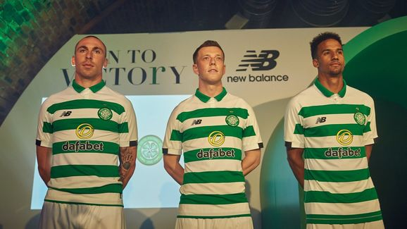 the best attitude d4bb8 b499d Celtic Launch New Balance 2019/20 Home Kit Inspired by ...