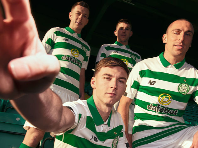 d5761220381 Celtic Launch New Balance 2019 20 Home Kit Inspired by Club s First ...