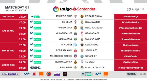 Bất chấp phản đối, La Liga công bố lịch thi đấu gây tranh cãi