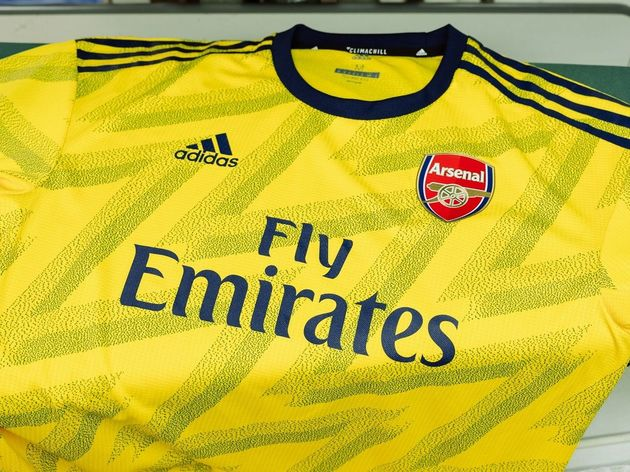 innovative design 83aad cd8a3 Arsenal Away Kit 2019/20: Gunners Launch 'Bruised Banana ...