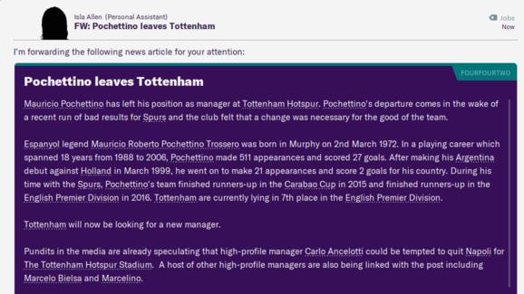 Football Manager 2020 Reveals How Jose Mourinho Will Get on as Tottenham Boss 1
