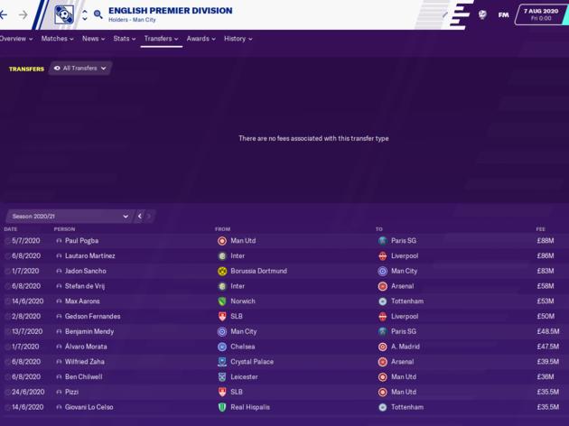 Football Manager 2020 Reveals How Jose Mourinho Will Get on as Tottenham Boss 15