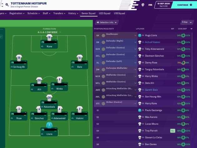 Football Manager 2020 Reveals How Jose Mourinho Will Get on as Tottenham Boss 17