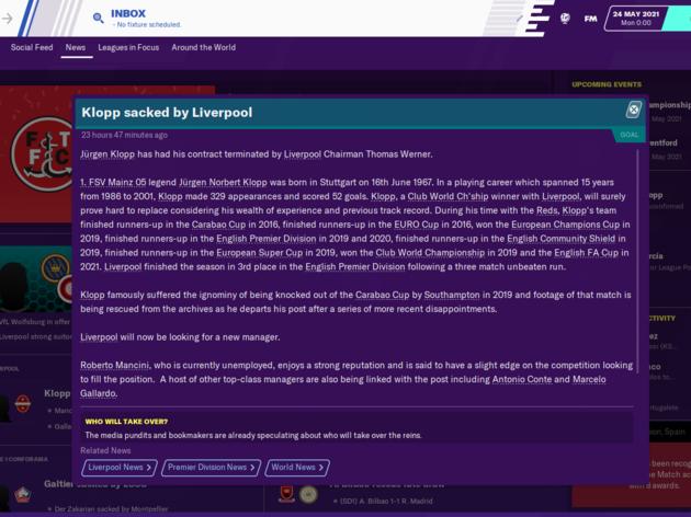 Football Manager 2020 Reveals How Jose Mourinho Will Get on as Tottenham Boss 25