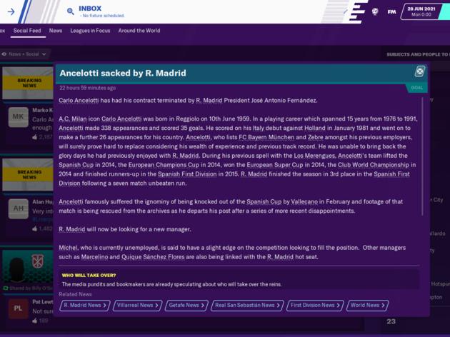 Football Manager 2020 Reveals How Jose Mourinho Will Get on as Tottenham Boss 27
