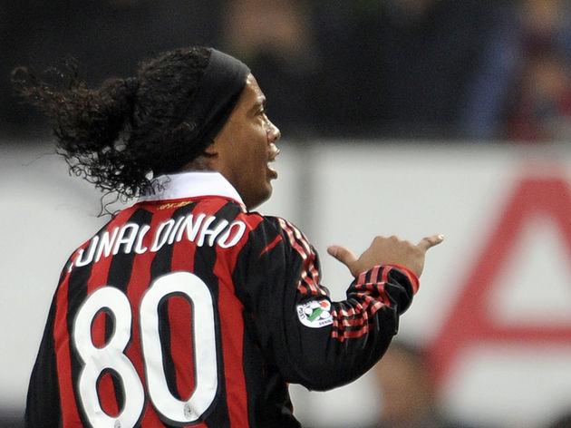 A.C. Milan's Brazilian forward Ronaldinh