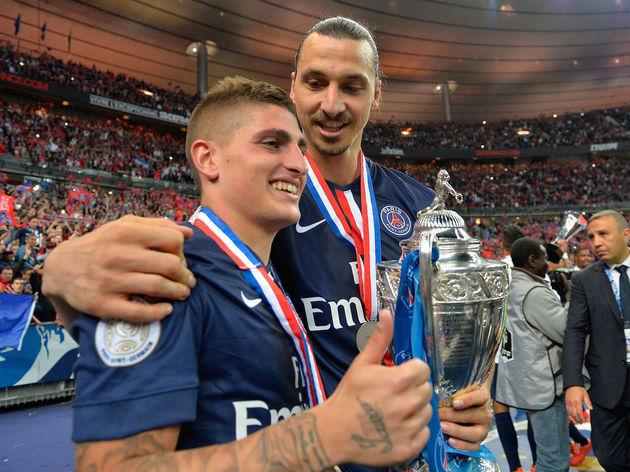 A.J. Auxerre vs Paris Saint-Germain - French Cup Final
