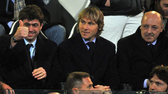 Andrea Agnelli,Pavel Nedved,Giuseppe Marotta