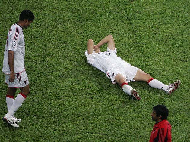 AC Milan's Braziian forward Serginho Dos