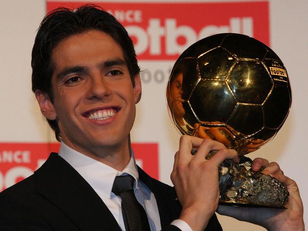 AC Milan's Brazilian midfielder Kaka pos