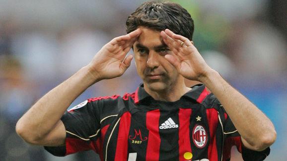 AC Milan's captain defender Alessandro C...