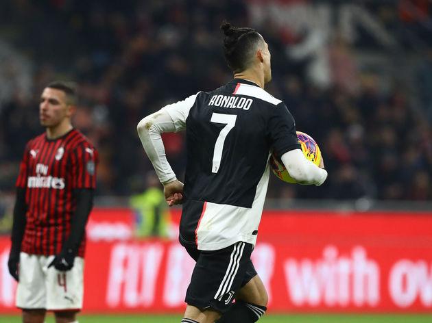 Cristiano Ronaldo,Davide Calabria