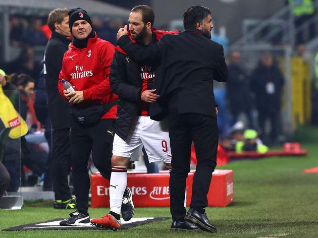 Gonzalo Higuain,Gennaro Gattuso