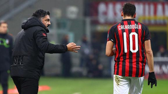 Gennaro Gattuso,Hakan Calhanoglu