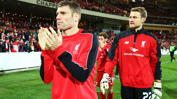 James Milner,Simon Mignolet