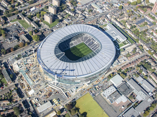 Test Event Delays Could Prevent Tottenham From Playing in Their New Stadium Until February